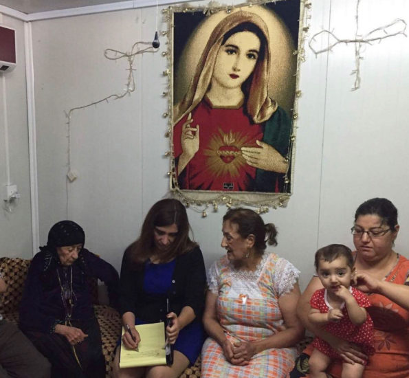 Working with Iraqi Chaldean Christians
